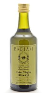 Bariani EVOO Early Harvest 550mL