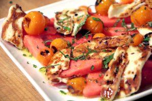 watremelon-halloumi-salad