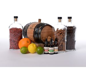 beehive-bitters-ingredients-group-02-lime-lemon-spiced-orange-spices-cinnamon