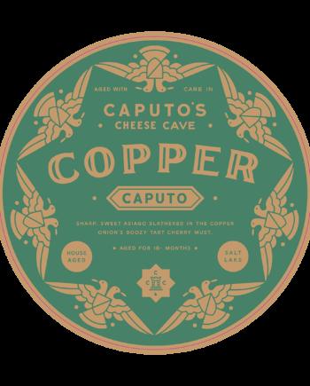 caputos-cheese-cave-copper-caputo-round-label