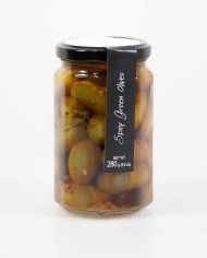 Casina-Rossa-Spicy-Green-Olives
