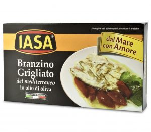 IASA Branzino Grilled Seabass in Olive Oil