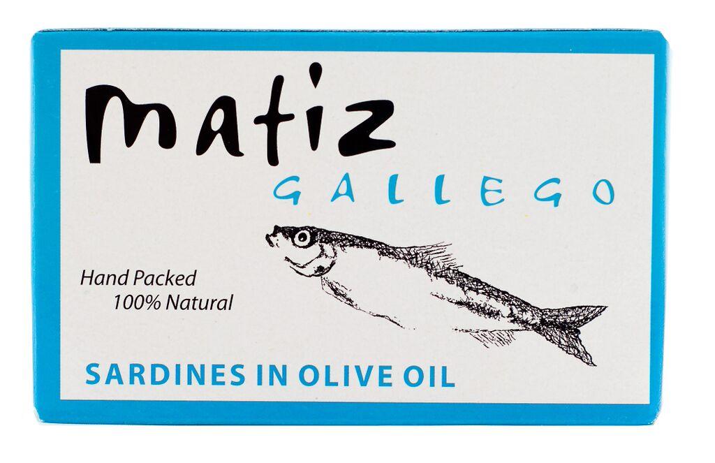 Matiz Gallego Sardines In Olive Oil