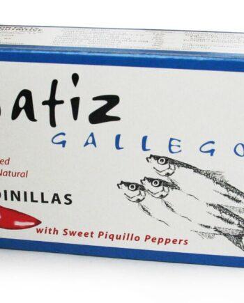 matiz-gallego-sardinillas-with-piqullo-peppers-4-2-oz