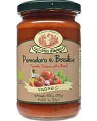 Rustichella ORGANIC Tomato & Basil Pasta Sauce