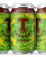 Taproot+Soda+Lemongrass+Ginger+Ale+Soda+Packaging